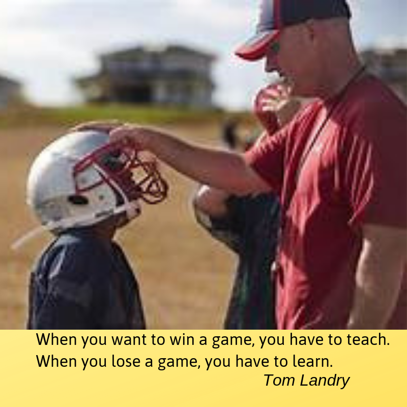 Landry quote coach-kid